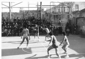 1974 promozione maschile - partita via caserma