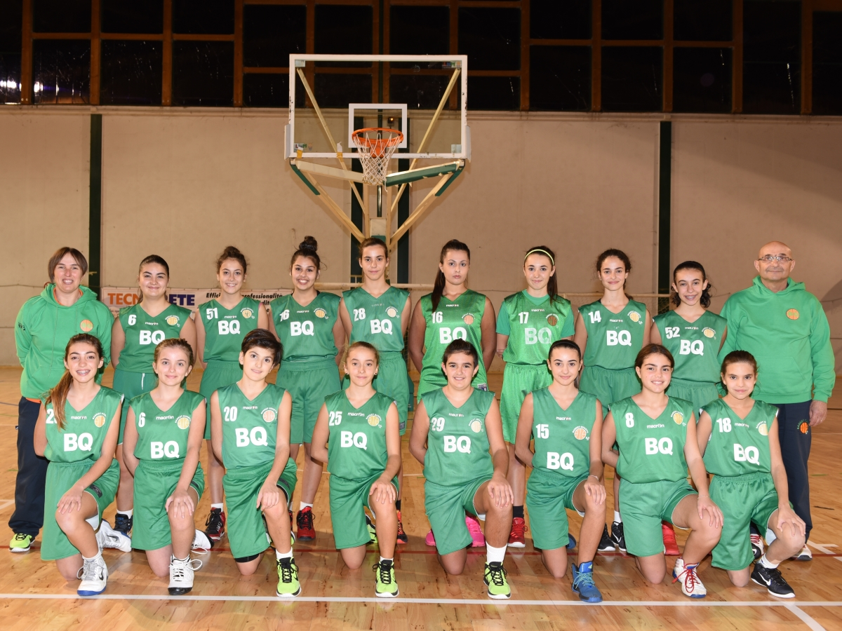 Under 14 femminile_Basket Quartu